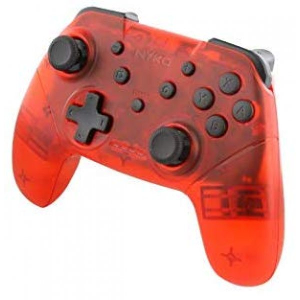 Nyko Nsw Wireless Core Controller Translucent Red