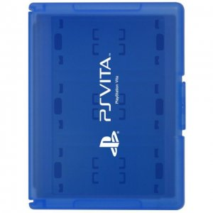 Card Case 12 for PlayStation Vita (Blue)
