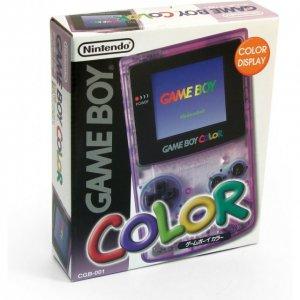 Game Boy Color Console - clear purple pr...