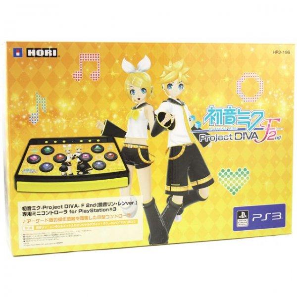 Hatsune Miku -Project Diva- F 2nd Mini Controller for PS3 (Kagamine Rin/Len Version)