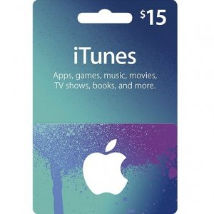 iTunes Card (US$ 15 / for US accounts on...