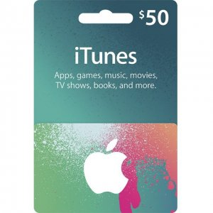 iTunes Card (US$ 50 / for US accounts on...