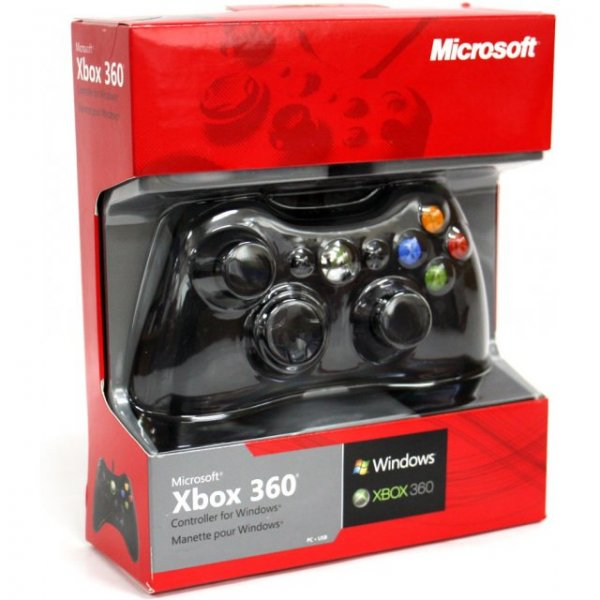Microsoft Xbox360 Wired Controller for Windows (Black)