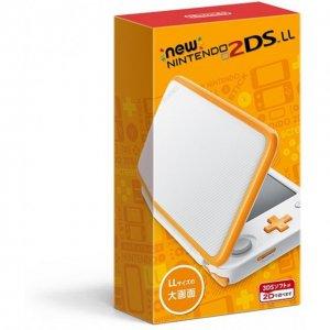 New Nintendo 2DS LL (White x Orange)