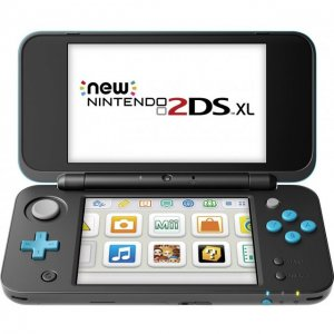 New Nintendo 2DS XL (Black x Turquoise)