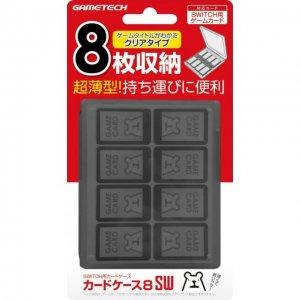 Nintendo Switch Card Case 8 (Black)