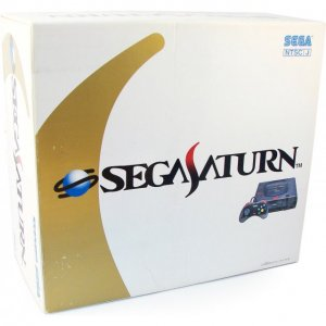 Sega Saturn Console - Skeleton-Saturn HS...