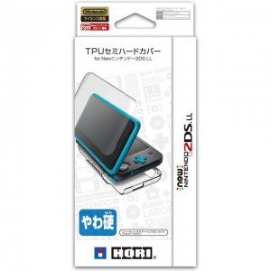TPU Semi Hard Cover for New Nintendo 2DS...