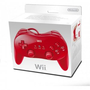 Wii Classic Controller (Red)