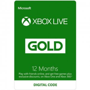 Xbox Live Gold 12 Month Membership GLOBA...