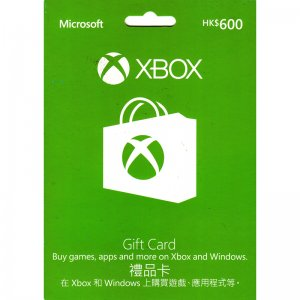 Xbox Gift Card (HKD 600)