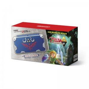 New Nintendo 2DS XL Hylian Shield Ed., w...