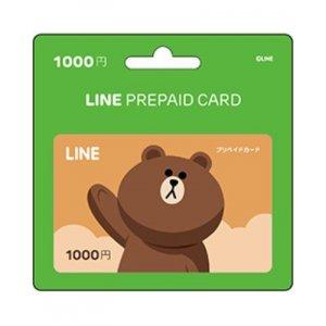 [Digital Codes] Line prepaid card 1000 Y...