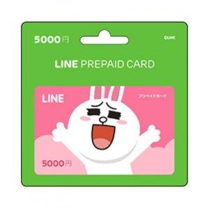 [Digital Codes] Line prepaid card 5000 Y...