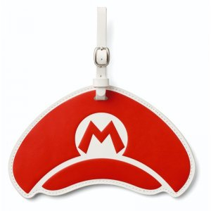 Super Mario Travel Pattern Luggage Tags:...