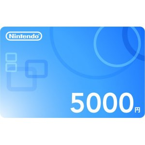 Nintendo Network Card / Ticket (5000 YEN...