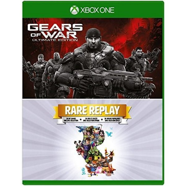 Gears of War - Ultimate Edition and Rare Replay - Xbox One (2 Pack)