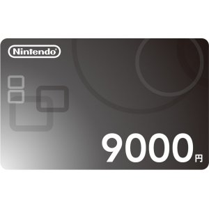 Nintendo Network Card / Ticket (9000 YEN...
