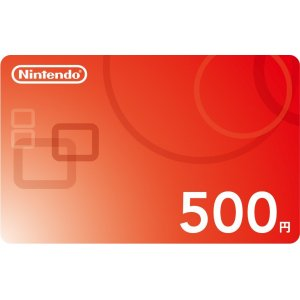 Nintendo Network Card / Ticket (500 YEN ...