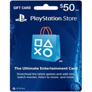 PlayStation Network Card (US$ 50 / for U...