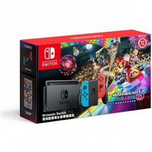 Nintendo Switch W/ Mario Kart 8 Deluxe C...