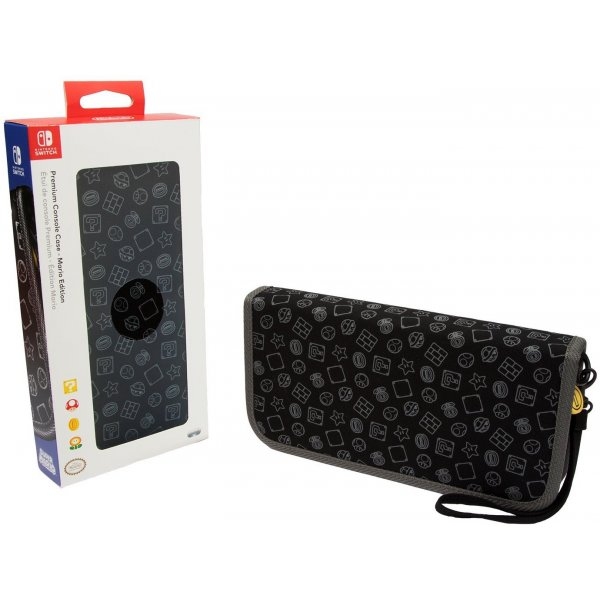 Nintendo Switch Super Mario Brothers Premium Travel Case for Console and Games by PDP