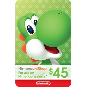 Nintendo eShop Gift Card $45 - Switch / ...