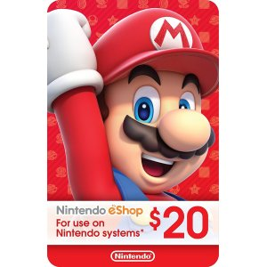 Nintendo eShop Gift Card $20 - Switch / ...