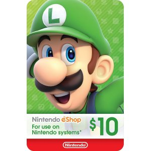Nintendo eShop Gift Card $10 - Switch / ...