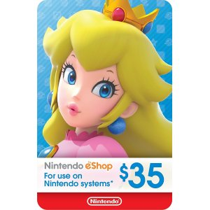 Nintendo eShop Gift Card $35 - Switch / ...