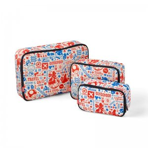 Super Mario Travel Pattern Soft Bags Ser...