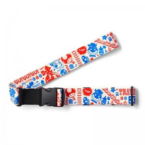 Super Mario Travel Pattern Suitcase Belt...