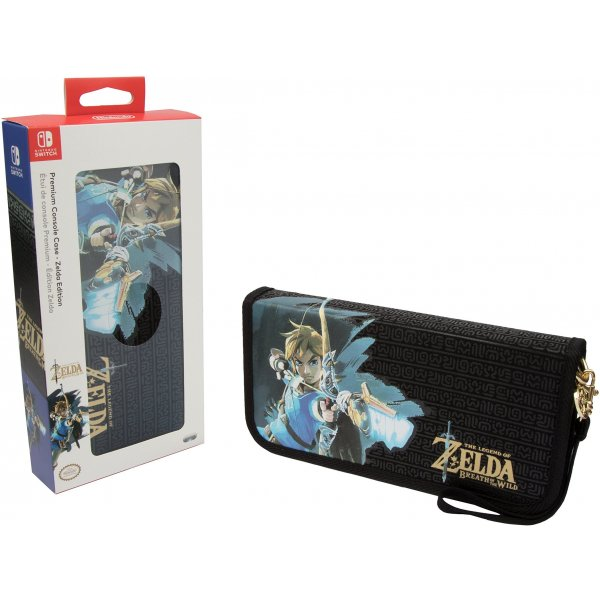 Nintendo Switch Zelda Breath of the Wild Premium Travel Case for Console and Games by PDP