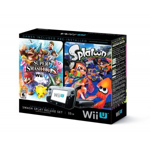 Wii U Super Smash Bros and Splatoon Bund...
