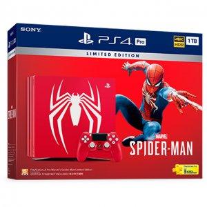 PlayStation 4 Pro 1TB HDD [Marvel's Spid...