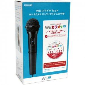 Wii U Microphone Set [w/ Karaoke U Trial...