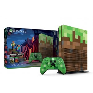 Xbox One S Minecraft Limited Edition Bun...