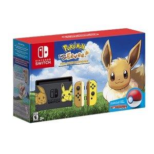 Nintendo Switch Pikachu & Eevee Edit...