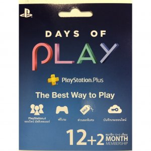 PSN Playstation Plus 12+2 Month