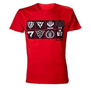 T-Shirts Killzone Red Icons TS011420KZN ...