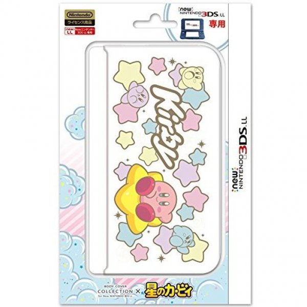 Body Cover for New 3DS LL Hoshi no Kirby Series (Type C)