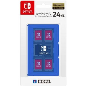 Card Case 24+2 for Nintendo Switch (Blue...