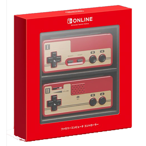 Famicom Controllers Revealed For Nintendo Switch