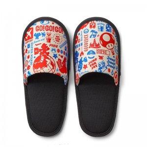 Super Mario Travel Pattern Slippers (Nin...