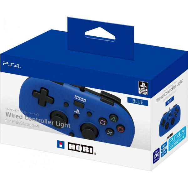 Hori Wired Controller Light For Playstation 4 [ฺBlue]