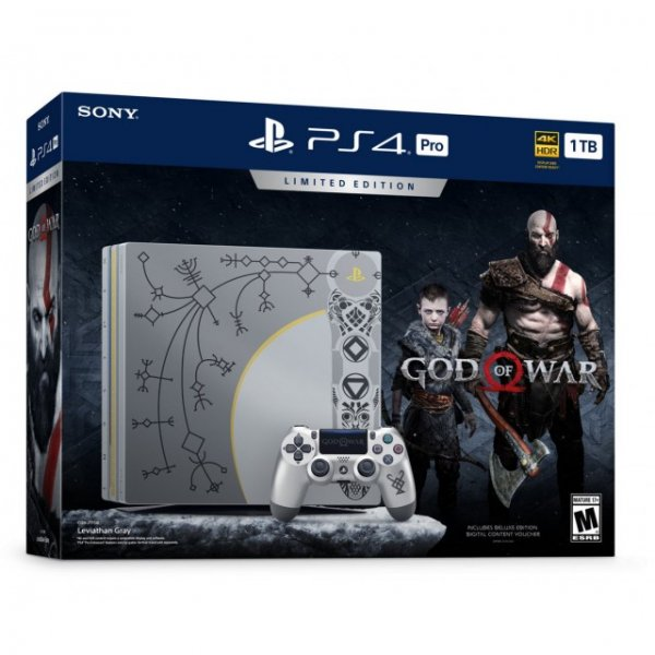 PlayStation 4 Pro 1TB HDD [God of War Limited Edition]