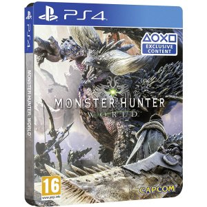Monster Hunter: World [SteelBook Edition...