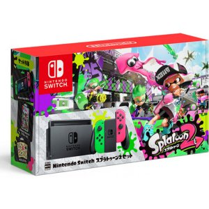 Nintendo Switch Splatoon 2 Set (Neon Gre...