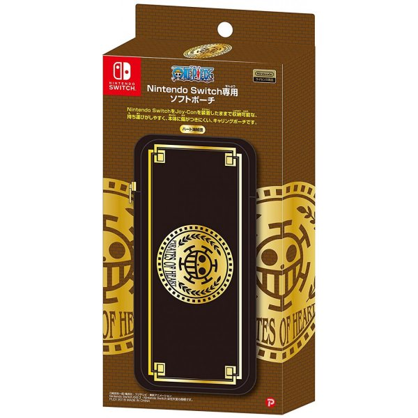 One Piece Heart Pirates Soft Pouch for Nintendo Switch
