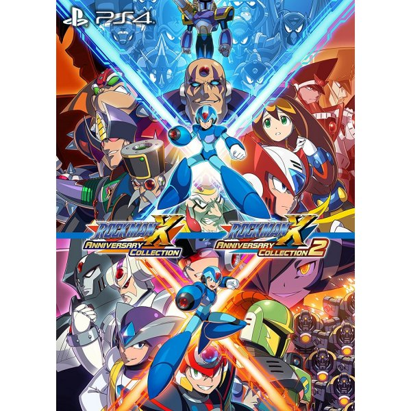Rockman X Anniversary Collection + Rockman X Anniversary Collection 2 [e-Capcom Canvas Art Limited Edition]